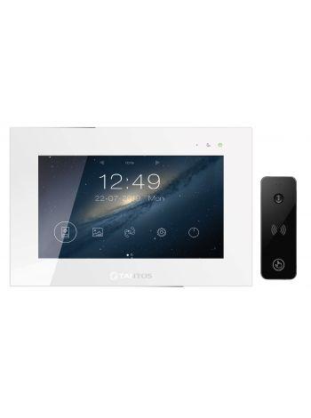 Tantos Jolli HD WI-FI и iPanel 2 HD + (черная) (комплект многофункционального домофона 10
