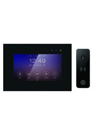 Tantos Marilyn HD (черный) и iPanel 2 HD + (черная) (комплект многофункционального домофона 7