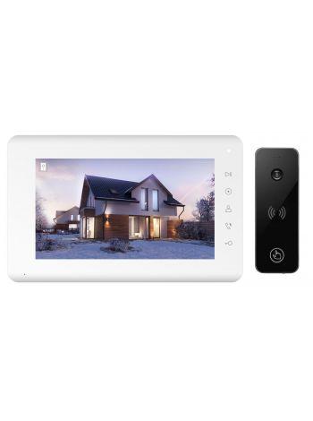 Tantos Mia HD и iPanel 2 HD + (черная) (комплект домофона 7