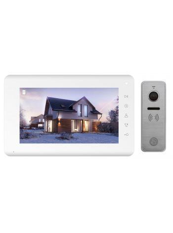 Tantos Mia HD и iPanel 2 HD + (металл) (комплект домофона 7