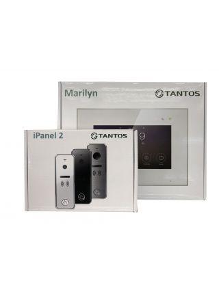 """Tantos Marilyn HD Wi-Fi IPS (черный) и iPanel 2 HD + (черная) (комплект многофункционального домофона 7"""" HD с Wi-Fi)"""