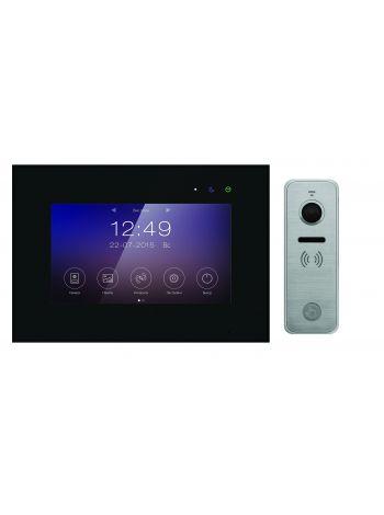 Tantos Marilyn HD Wi-Fi IPS (черный) и iPanel 2 HD + (металл) (комплект многофункционального домофона 7