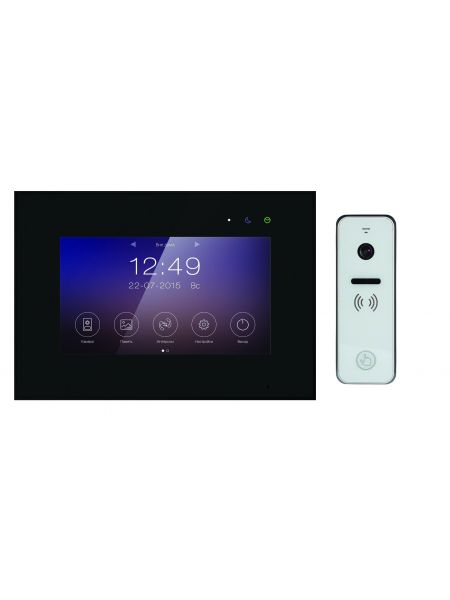 """Tantos Marilyn HD Wi-Fi IPS (черный) и iPanel 2 HD + (белая) (комплект многофункционального домофона 7"""" HD с Wi-Fi)"""