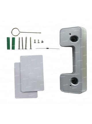 Tantos iPanel 2 WG EM KBD HD (черная) вызывная панель с кодонаборной панелью и считывателем