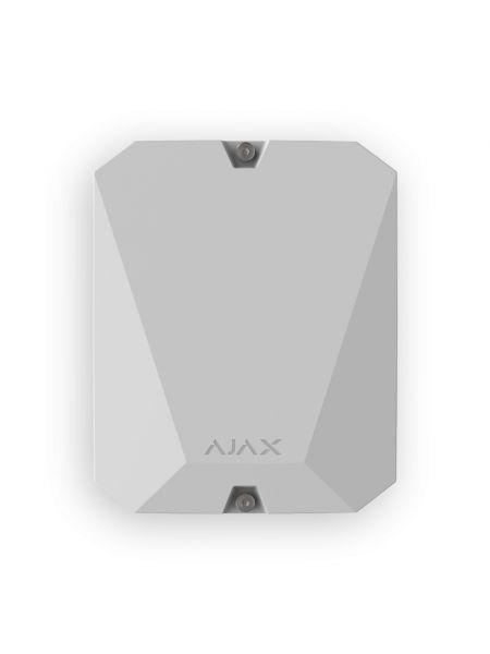 Ajax MultiTransmitter (белый) Модуль для подключения проводной сигнализации к Ajax