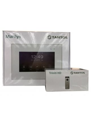 """Tantos Marilyn HD Wi-Fi IPS (черный) и Triniti HD (комплект многофункционального домофона 7"""" HD с Wi-Fi)"""