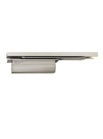 Hafele DCL 34 (931.84.049)  дверной доводчик   врезной, усилие EN3, с шиной скольжения, для двери толщиной 40 мм и более, без фиксатора