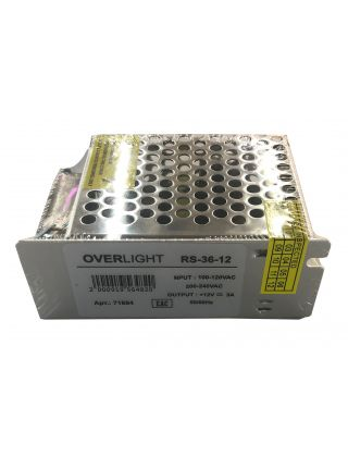 RS-36-12 (12V , 36W, 3A, IP20)