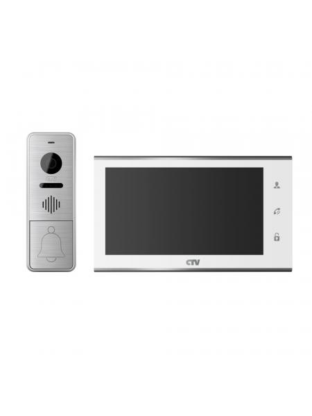 CTV-DP4705AHD (белый) комплект цветного видеодомофона