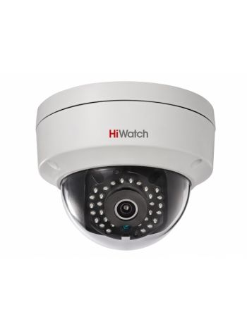 HiWatch DS-I122 (12 mm) Купольная IP-видеокамера с ИК-подсветкой до 15м