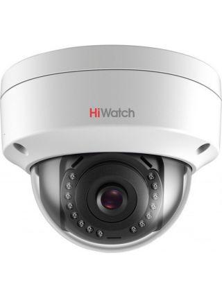 HiWatch DS-I252 (2.8 mm) Купольная IP-видеокамера с ИК-подсветкой до 30м