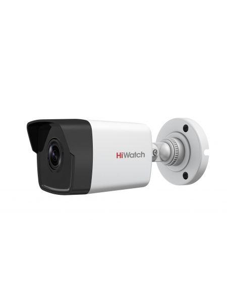 HiWatch DS-I250 (4 mm) Цилиндрическая IP-видеокамера с EXIR-подсветкой до 30м
