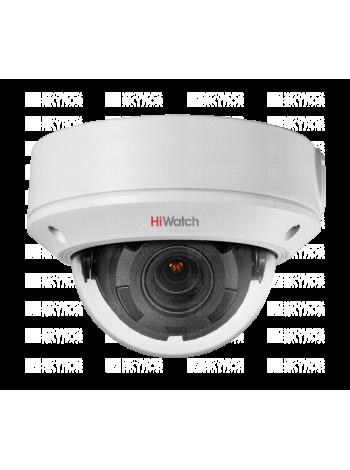 HiWatch DS-I458 (2.8-12 mm) Купольная IP-видеокамера с EXIR-подсветкой до 30м