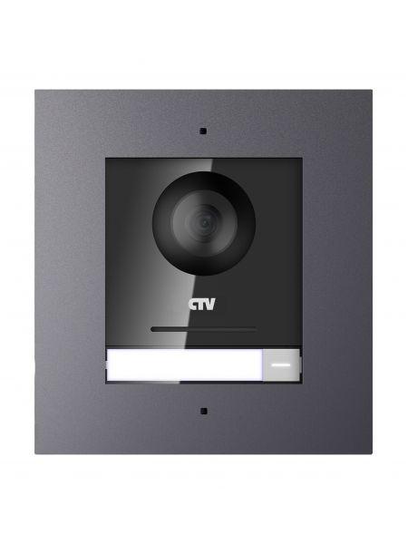 CTV-IP-UCAMF вызывная Full HD IP-панель для видеодомофонов с углом обзора 180° врезной установки