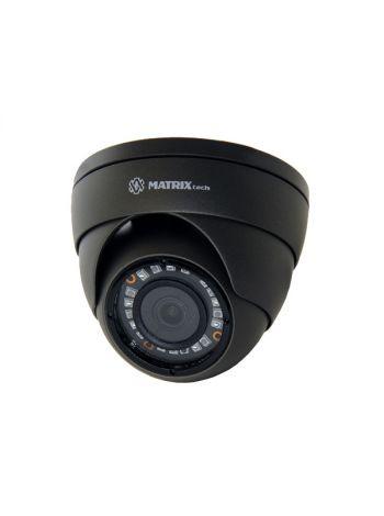 MATRIX MT-DG1080AHD20S (3,6мм) антивандальная купольная Full HD мультигибридная камера -  переключение AHD/TVI/CVI/CVBS