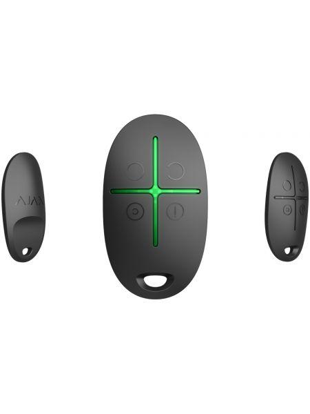 Ajax SpaceControl (black) Брелок управления системой безопасности с тревожной кнопкой