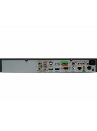 HiWatch DS-H204QP 4-канальный гибридный HD-TVI регистратор с технологией PoC