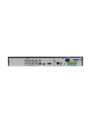 HiWatch DS-H208QP 8-канальный гибридный HD-TVI регистратор с технологией PoC