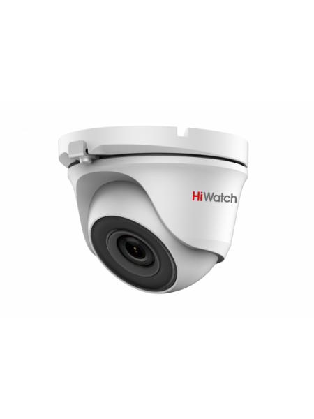 HiWatch DS-T123 (2.8 mm) Купольная HD-TVI видеокамера с EXIR-подсветкой до 20 м