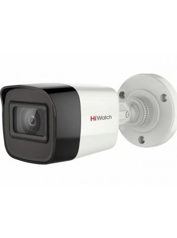 HiWatch DS-T500 (2.4 mm) Цилиндрическая HD-TVI видеокамера с ИК-подсветкой до 20 м