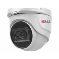 HiWatch DS-T503A (6 mm) 5 Мп купольная HD-TVI видеокамера с EXIR-подсветкой до 30 м и микрофоном