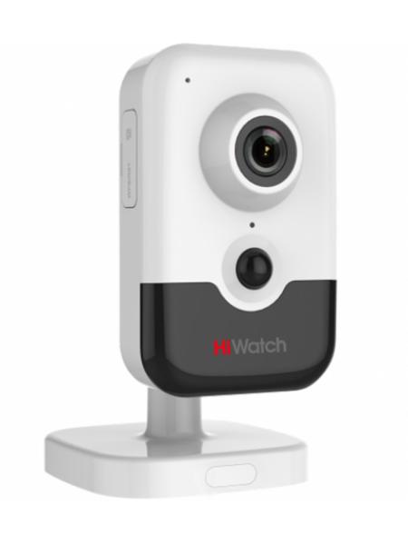 HiWatch DS-I214W(B) (2.0 mm) Компактная IP-видеокамера с ИК-подсветкой до 10 м и Wi-Fi