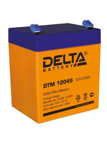 Аккумулятор 12В 4,5 А*ч (DTM 12045)