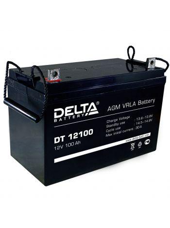 Аккумулятор 12В 100 А*ч (DT 12100)
