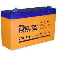 Аккумулятор 6В 12 А*ч (DTM 612)