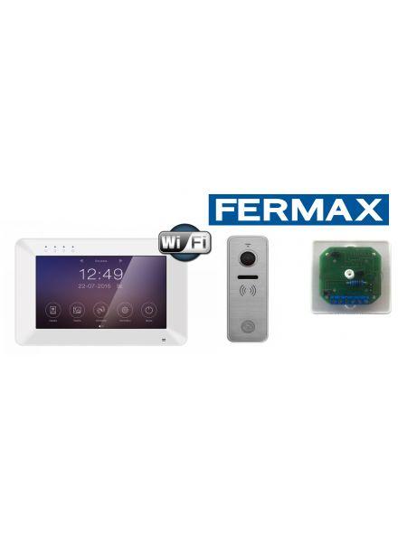 Комплект Rocky Wi-Fi/Ipanel 2+ Металл с декодером Fermax VDS