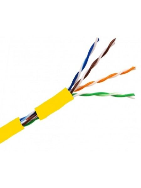 Кабель UTP 4PR 24AWG CAT5e OptimLAN Желтый
